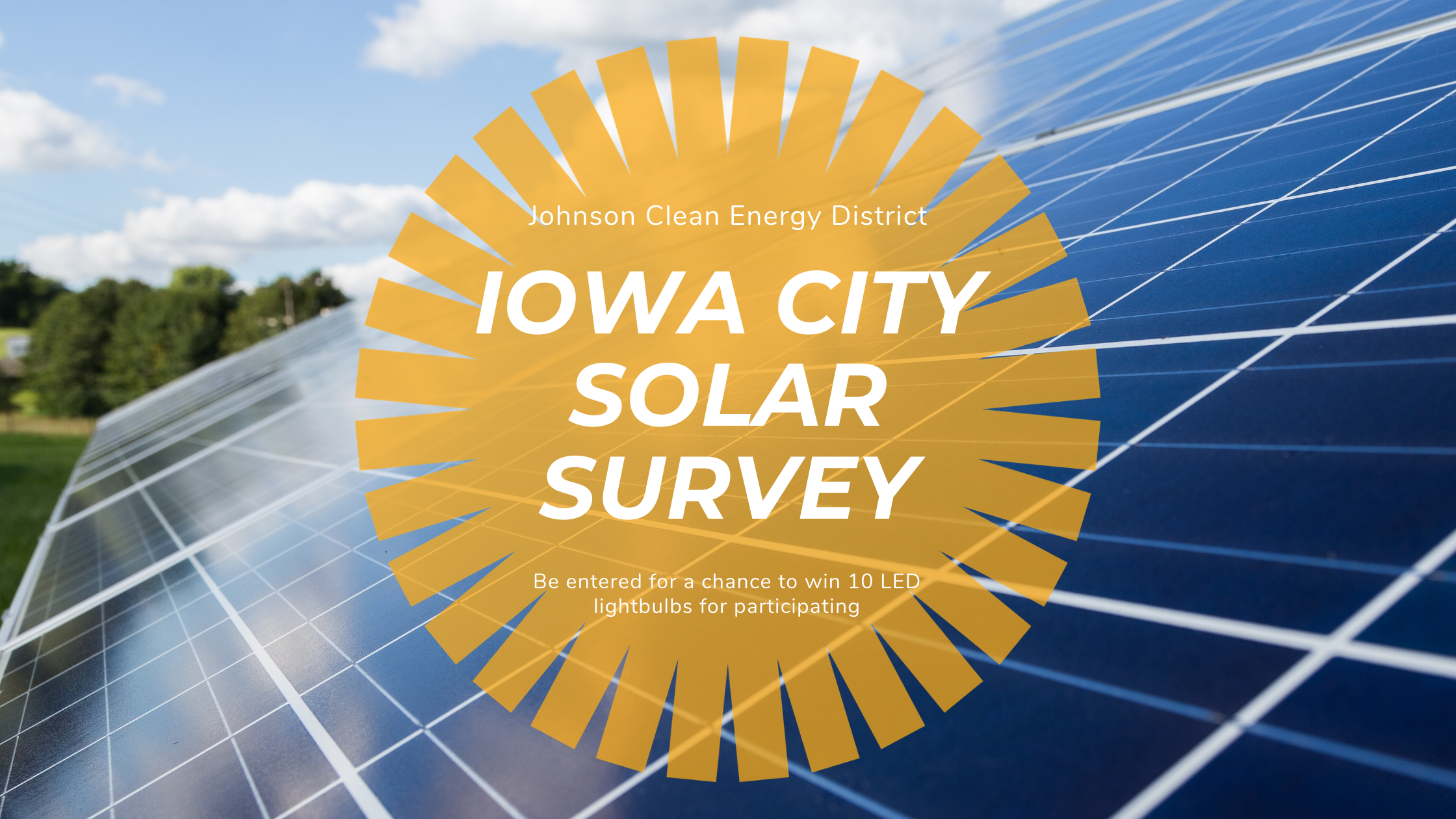 Iowa City Launches Survey Seeking Community Input on Solar